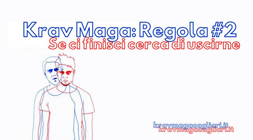 Seconda regola della lotta nel Krav Maga: Creadistanza